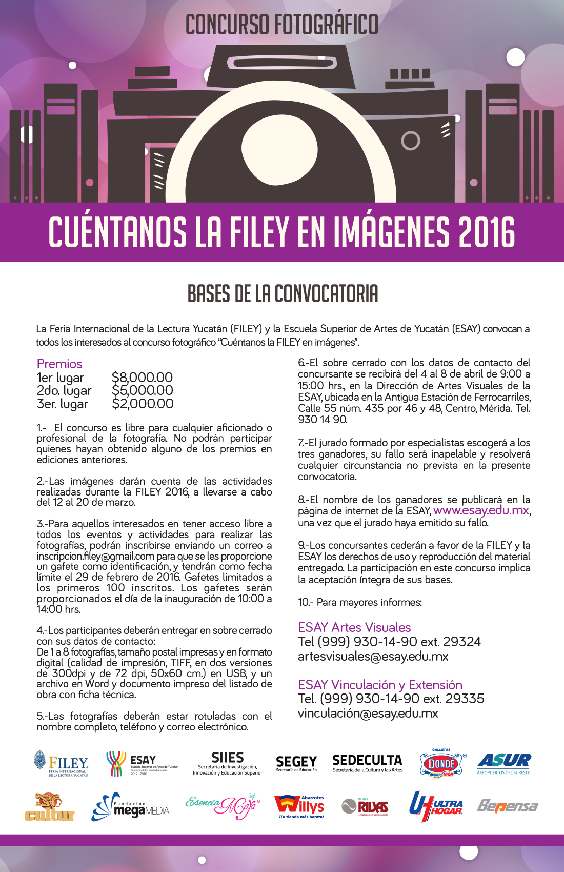 CUENTANOS LA FILEY 2016