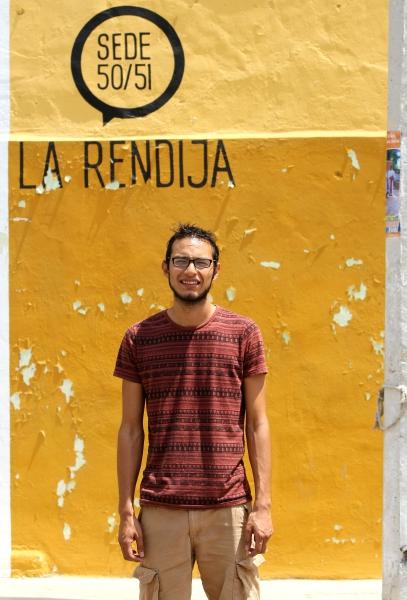 19 de abril del 2016 Imagen Entrevista con responsables de la obra ÒEl MarineroÓ de Erick Silva en la foto: Foto: Fidel Interian Jimenez